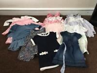 Girls clothes bundle 6 to 9 months