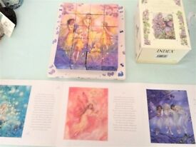 LOVELY UNUSUAL FAERIE JIGSAW CUBES 6 DESIGNS £5 ideal xmas present