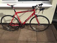 Road bike, superb condition two months old.