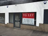 Shop Unit to LET Cathcart Glasgow