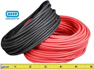 Cable 16mm2 de sección en color rojo o negro   Por metros !!
