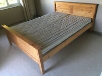 Double Bed Pine Frame 5' King Size