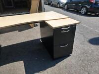 10 x solid office desks with draws at just £45 each Only!!