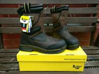 Dr Martens Safety/rigger boots size 9