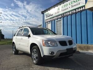 2009 Pontiac Torrent GT; Heated Leather, Sunroof Chrome Pkg