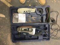 AEG Belt sander 240v