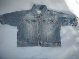 Baby boy Gap jeans jacket 3-6 months - excellent condition