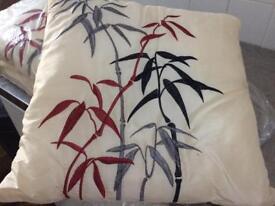 Cushions x 3