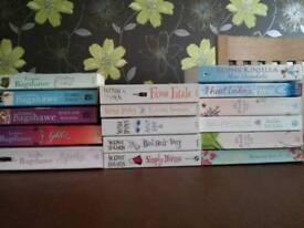 16 paperbacks. Various authors.