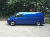 Volkswagen transporter 1.9 2005 t5 vw lwb