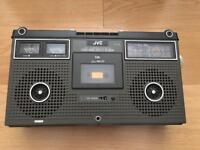 JVC Retro Radio Cassette player & Recorder