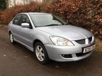 MITSUBISHI LANCER 1.6 ** 2005** MOT EXPIRES OCTOBER 2018** SERVICE HISTORY**