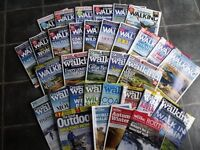 Collection (Job Lot) 29 x Country Walking Magazines/1 x The Great Outdoors Magazine - No Duplicates