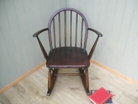 Stunning Vintage Ercol Rocking Chair