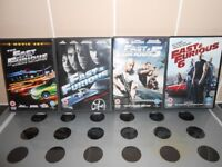 FAST & FURIOUS DVD'S 1-6 - £4 FOR ALL