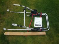 Exodus metal clamp high 3 bike carrier cycle rack