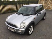 2002 51 MINI ONE 1.6 3 DOOR HATCHBACK - *ONLY 86,000 MILES* - FEB 2017 M.O.T - CHEAP EXAMPLE!