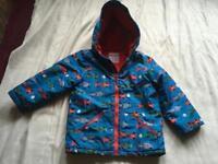 Baby boys mini club waterproof hoody jacket age 5/6yrs used £3