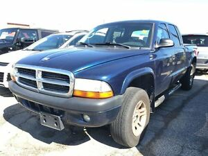 2004 Dodge Dakota SPORT**4.7L V8**4X4**QUAD CAB**