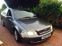 CHEAP DIESEL 2004 VOLVO S40 FULL LEATHER 1.9 TDI
