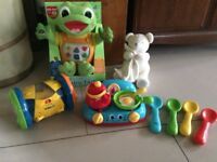 LEAPFROG BABY TAD MUSICAL INTERACTIVE TOY BOXED ELC COOKER VTECH M&S MUSICAL BEAR BUNDLE CHRISTMAS
