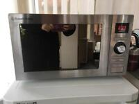 RUSSELL HOBBS RHM2572CG Combination Microwave - Stainless Steel 6 month old