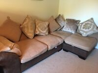 DFS Corner Sofa. Ridiculously comfortable. Great used condition. Smoke free home. £150.