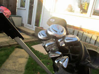 Set of Dunlop Clubs = Trolley