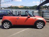 Mini Cooper Convertible, great fun car