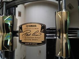 Very rare Paul liem custom Yamaha snare 6x5