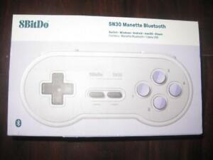 8Bitdo SN30 Bluetooth Gaming Wireless Controller / Game Pad For Nintendo Switch, Raspberry Pi, Computer Android, Macbook