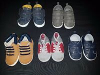 5 pairs baby pram shoes