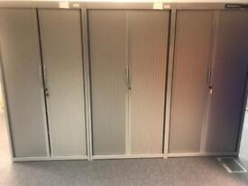 Metal Tambur Units (flexiform) RRP £899 with Keys & Shelves