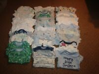 Baby Boy Clothes 0-3 Months (Job Lot)