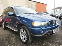 BMW X5 3.0d Sport Auto, (topaz blue) 2003