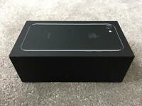 IPHONE 7 JET BLACK 256gb, FACTORY UNLOCKED, BRAND NEW BOXED UNUSED, 1 YEAR WARRANTY, rrp £799