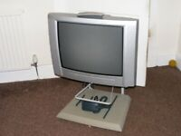 tv with stand, aerial , prompt collection FREE, FREE, FREE.