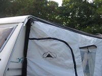 sunncamp rotunde 350 deluxe caravan awning