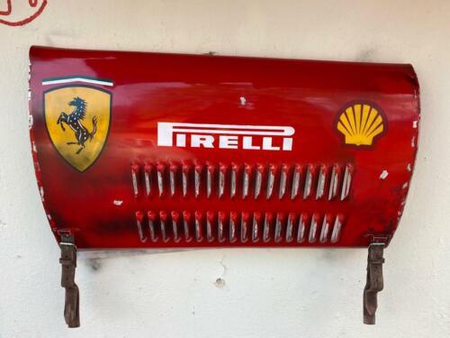 Vtg Other Ferrari Grand Prix race car wall art panel vintage replica Handmade