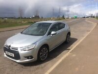 2012 Silver Citroen 1.6 HDI DS4, great car and very economical
