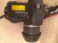 Canon EOS 20D Digital SLR Camera, 18-55mm lens and extras. DSLR