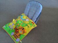 Mothercare reclining baby chair +playmat