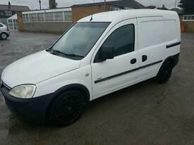 Vauxhall combo crew cab 2002