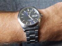 Seiko Classic Retro Watch