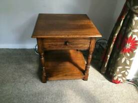 Side table with draw
