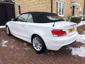 BMW 1 Series 2.0 118i M Sport Convertible, Leather, Heated Seat, 1x Lady Owner from new, full BMW SH