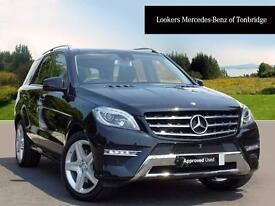 Mercedes-Benz M Class ML250 BLUETEC AMG LINE (black) 2015-09-30