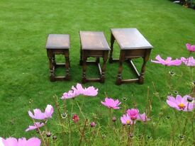 FARMHOUSE/COTTAGE STYLE NEST OF TABLES (Pegged joints)