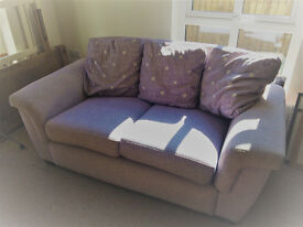 Lilac Two-seater sofa
