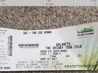 Galantis ticket - 2018 aviary tour - standing - Sunday 18th Feb
